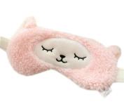 Ayygiftideas Soft Cute Sheep Eyeshade Cold Hot Therapy Yoga Eye Spa Eye Mask