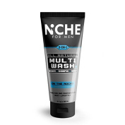 Niche for Men 3-in-1 Multi Wash Shower Gel Shampoo Shave On The Rocks Peppermint 250ml