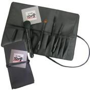 [Kosumedo] Hiroshima brush makeup brush entry Series 4 pcs set + winding pouch