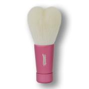 Takumi of makeup brushes Kosumedo Kumano brush heart-shaped facial cleansing brush M size Pink