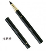 Takumi of makeup brushes Kosumedo Kumanofude Makeup Brush portable sliding ash squirrel + Kema eye shadow brush (apex) with [RS Series] cap