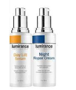 LUMIRANCE MAXIMUM FACELIFT KIT- DAY LIFT SERUM & NIGHT REPAIR CREAM,60ml Each