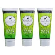 Dionis Goat Milk Hand Cream 3 Piece Travel Gift Set - Verbena & Cream
