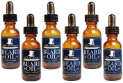 Premium Beard Oil and Conditioner for a Softer, Itch Free Beard - Variety Pack of 6 - 30ml Bottles - Handmade with High Quality Carrier and Essential Oils that Offer Important Vitamins and Nutrients!
