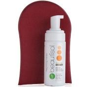 Beautisol Tea Tan Glow Instant Body Bronzer with Easy Application Mitt