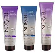 Norvell Prolong Package with Prolong Colour Extender, Balancing Shower Cleanser, and Complexion Facial Moisturiser