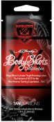 5 Packets of Ed Hardy Body Shots Doubleshot Hot Tingle Bronzer Packets