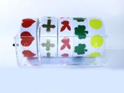 Salon Tanning Sticker Holder & Stickers Starter Kit - Acrylic Dispenser + 5 Rolls Of Body Stickers