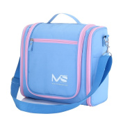 MelodySusie® Hanging Waterproof ToiletryBag, Great Choice of Toiletry Travel Bag for Summer Holidays Outdoor Activities