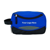 50 Quantity - $5.65 Each - Toiletry Bag PROMOTIONAL PRODUCT / BULK / BRANDED with YOUR LOGO / customised