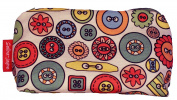 Buttons Limited Edition Designer Toiletry Bag