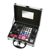 the colour Workshop Incredible Colours 41 Piece Collection Silver Small Train Case