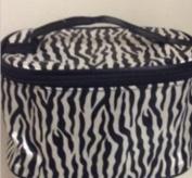 Cosmetic Case Makeup Bag Zebra Print