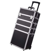 Cosmetic Makeup Professional Case Organiser Black