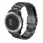 Voberry® Fashion New Stailess Steel Bracelet Strap Watch Band For Garmin Fenix 3