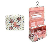 BB & Love Portable Hanging Waterproof Travel Organiser Toiletry Wash Cosmetic Bag Makeup Storage Case Grooming Storage Bags