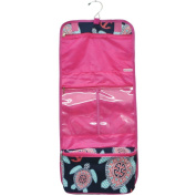 Sea Turtle Anchor Print NGIL Toiletry Cosmetic Jewellery Organiser Travel Pouch