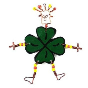Creative Alternatives Dancing Girl Luck of the Irish Pin
