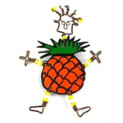 Creative Alternatives Dancing Girl Pineapple Pin