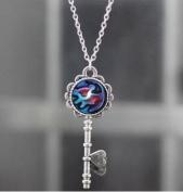 Pendant Necklace Key ,Necklace Key, Gorgeous Disney Jewellery