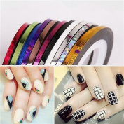 28 Colours Striping Tape Line Art Decoration Sticker for Nail Art DIY