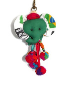 anging Doll Keychains Green Elephant Creative Cute Doll, Gifts, souvenirs