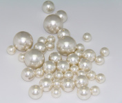 75 Jumbo Pearls Decorative Vase Filler Assorted Sizes for Wedding Centrepiece