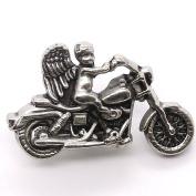 Cherub Motorcycle Line 24 Snap Cap Antique Nickel 2.5cm - 1.3cm 1265-40
