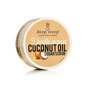 Deep Steep Coconut Oil Sugar Scrub, Vanilla, 8 Fluid Ounce