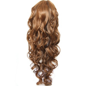KLAIYI Hair Long Curly Hair Full Head Wigs for Women Synthetic Wigs High Quality Natural Beauty and Romantic