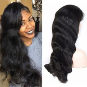 Human Hair Lace Front Wigs Unprocessed Virgin Brazilian Body Wave Hair Wigs 130% Denisity For Black Women 36cm - 70cm In Stock Natural Colour
