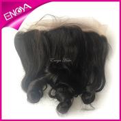 Enoya. 13 x 4 Peruvian Silk Base Lace Frontal Closure Loose Wave