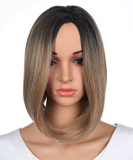 LOUISE MAELYS Short Hair Wig for Women Short Blonde Wig Cospaly Lob Hair