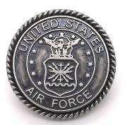 Air Force Antique Nickel Line 24 Snap Cap 2.5cm 1265-31