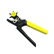 6 Sizes Adjustable Heavy-Duty Leather Hole Punch Tool 2.0 - 4.5 mm Hole for Watchband Belt