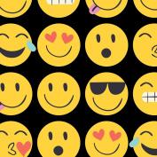 Jillson Roberts Designer Printed Tissue, Emojis, 24-Sheet Count