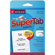 Smead Manufacturing SMD64917 Smead 160 Count Erasable Supertab
