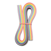 24 Colours Paper Quilling 5mm Width 390mm/540mm Length 120strips/pack