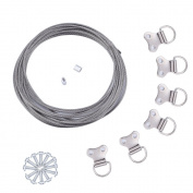 eBoot Picture Hanging Kit 21 Piece Hangs Up to 20kg
