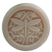 Grainrain DIY Handmade soap moulds Craft Art Silicone Soap moulds Dragonfly Soap Making Mould