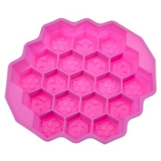 StarSide Chocolat Pizza Baking Tray Silicone Mould Bees Honeycomb Cake Pan Mould