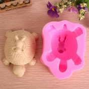 Grainrain Craft Art Silicone Soap moulds DIY Handmade soap moulds Tortoise and Frog Soap Making Mould