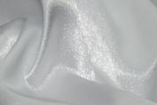 Crepe Back Satin Bridal Fabric WHITE Drapery Soft WIDE 30 YARD Roll WHOLESALE