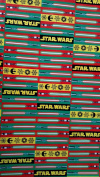 New Star Wars Wrapping Paper Christmas Gift Wrap - Lightsabers