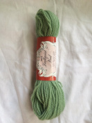 Jade Green Scovill Dritz Needlepoint 100% Pure Virgin Wool Yarn - 40 Yards