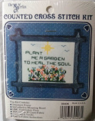 "NEW BERLIN COUNTED CROSS STITCH KIT #3O406 ""PLANT ME A GARDEN"""