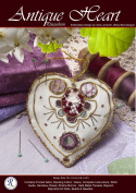 Antique Heart Needlework Embroidery Kit