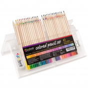 NEW Colore Coloured Pencils - Premium Pre-Sharpened Colour Pencil Set For Drawing Colouring Pages 60 Colours
