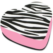 Magnetic Whiteboard Eraser Heart/Zebra