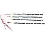 4 Pcs 12 LED 5050 SMD 30cm Waterproof Strip Light Car Motor Vehicle Decorations